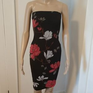 Strapless dress in size small